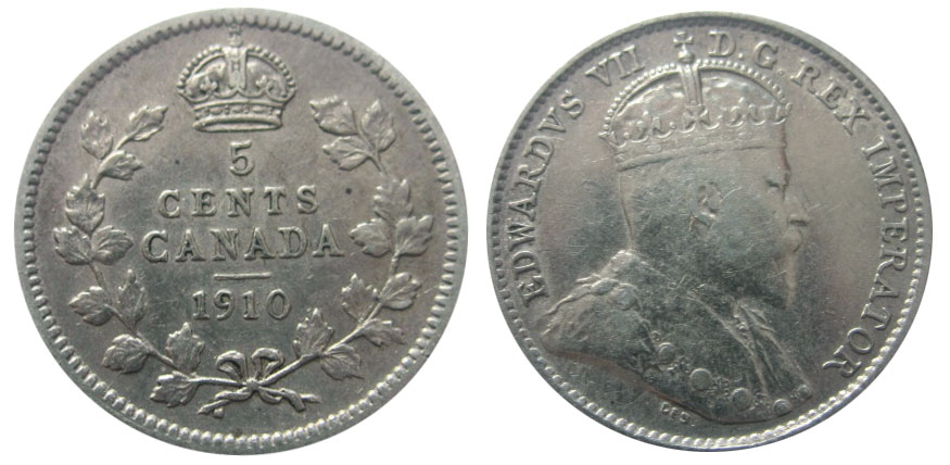 5cents 1910