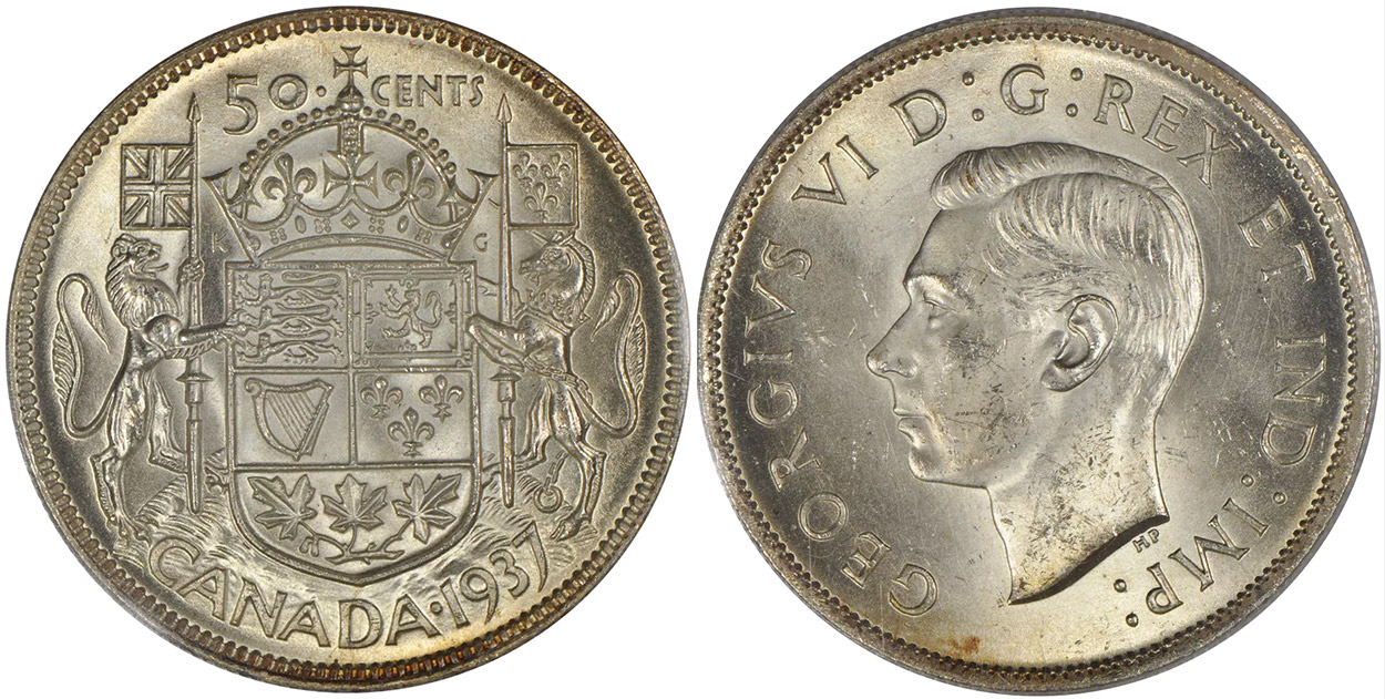 50 cents 1937