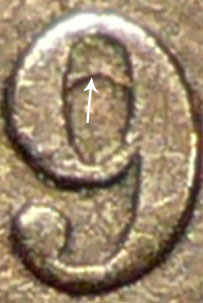 1 cent 1859 - DP5