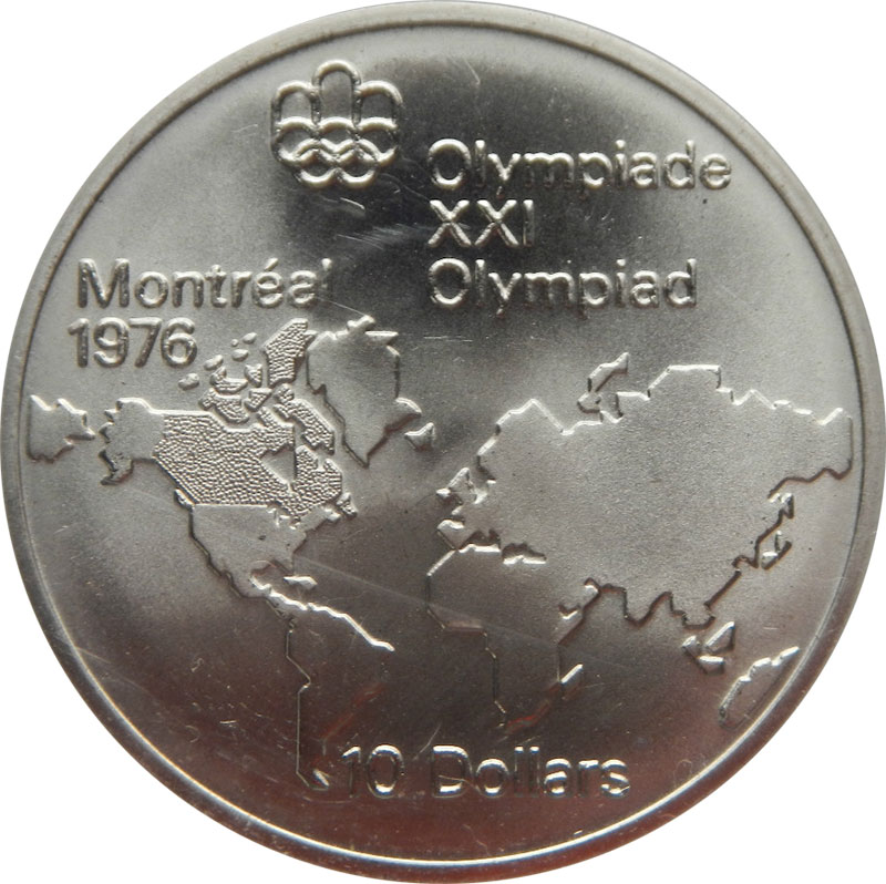 Coins and Canada  Montral  Olympic Games canadian coins