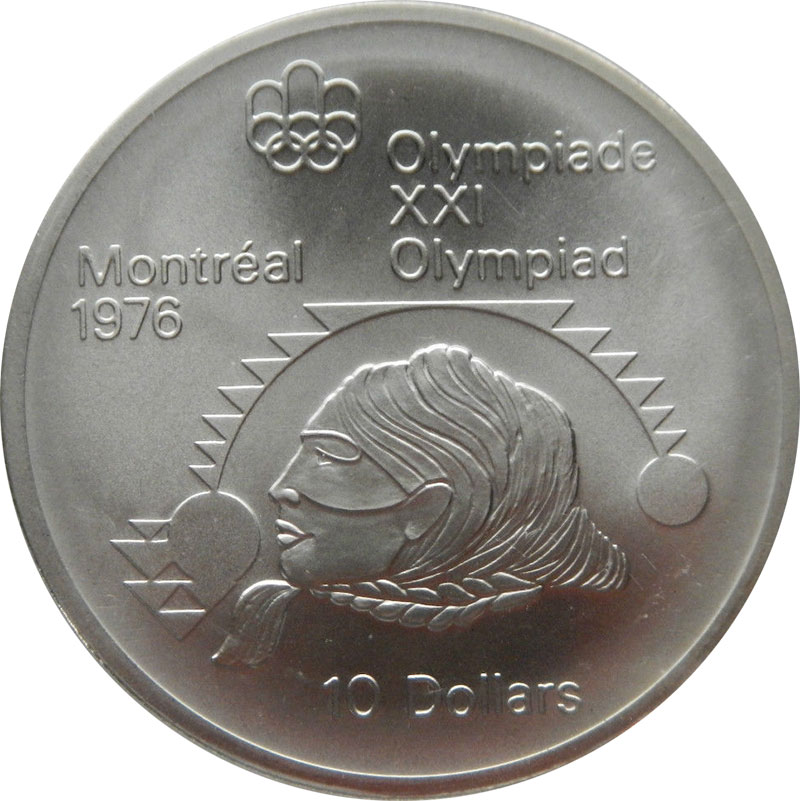 Coins And Canada Montr 233 Al Olympic Games Canadian Coins