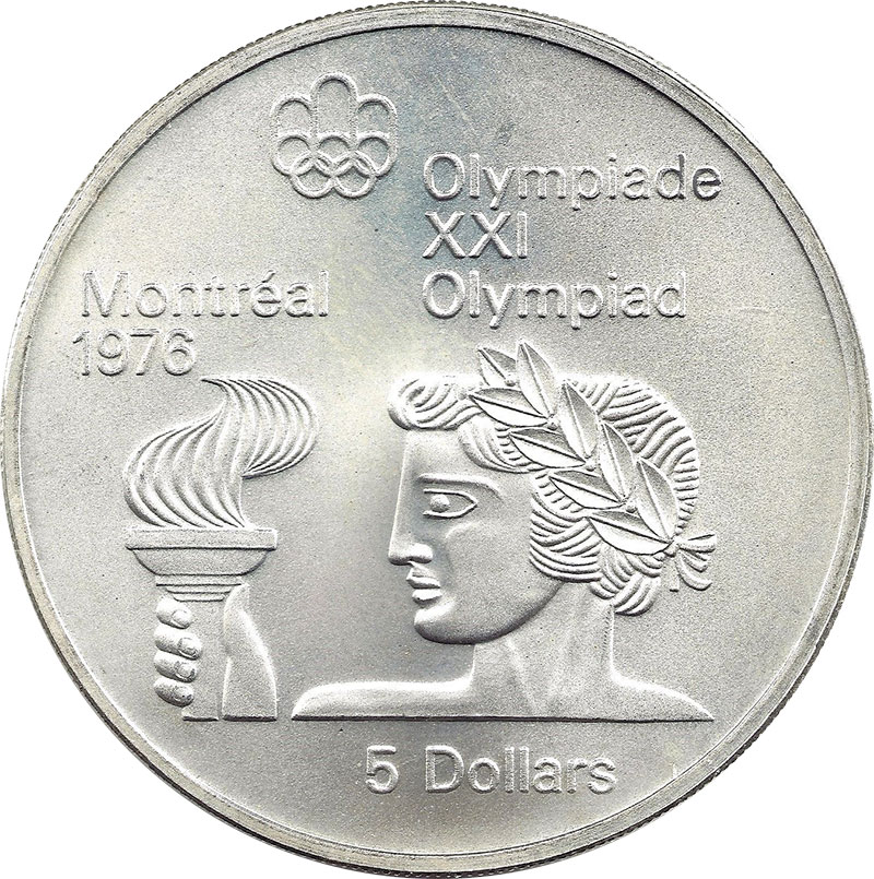 Coins and Canada - Montréal - Olympic Games canadian coins