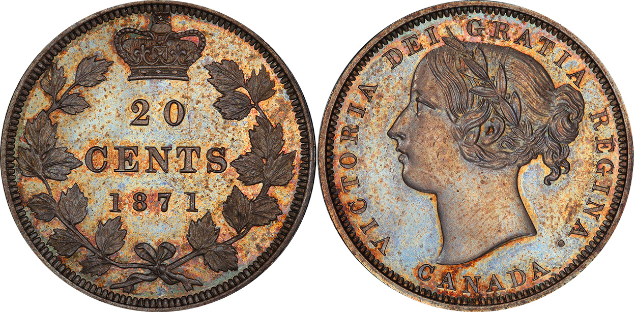 25 cents 1871
