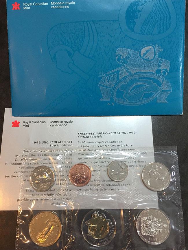 1999 PL Set - Nunavut