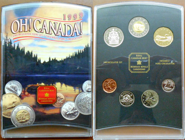 1999 PL Set - Oh Canada