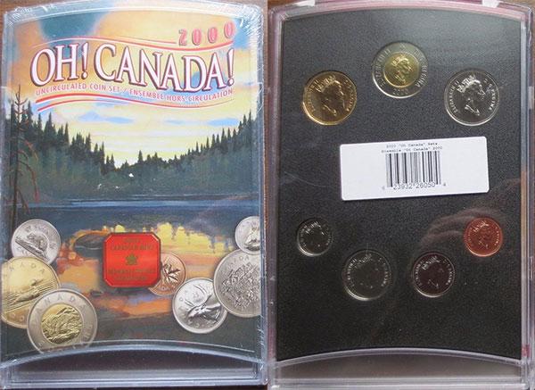 2000 PL Set - Oh Canada