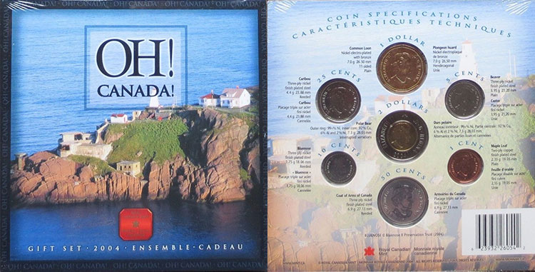 2004 PL Set - Oh Canada