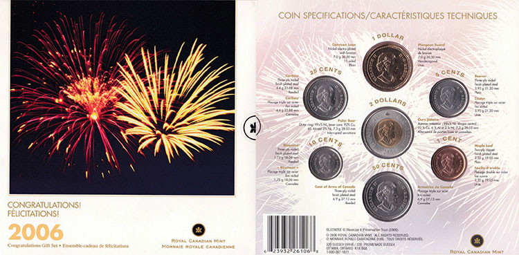 2006 PL Set - Félicitations