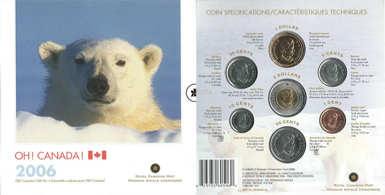 2006 PL Set - Oh Canada