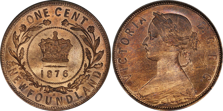 1 cent 1876 - Newfoundland
