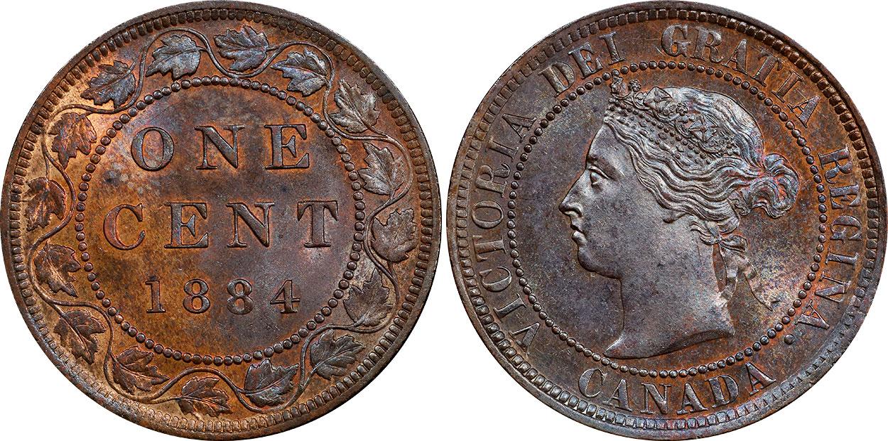 1 cent 1884