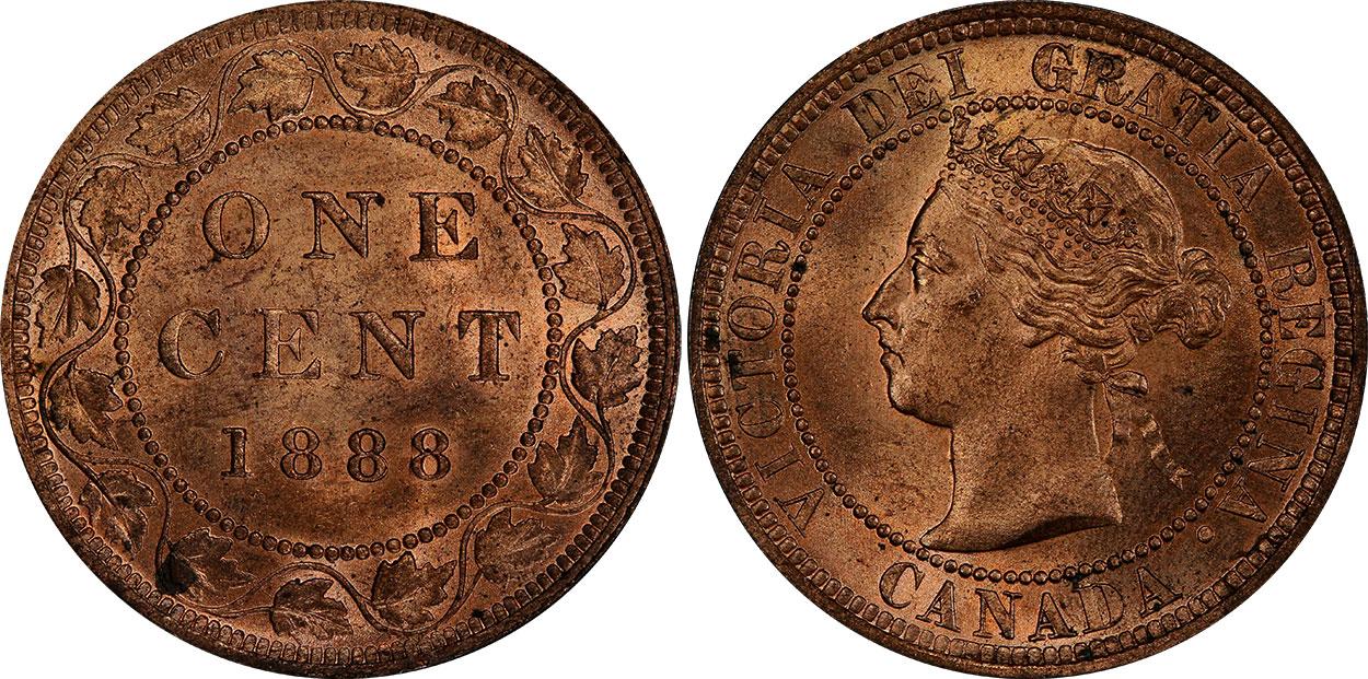 1 cent 1888