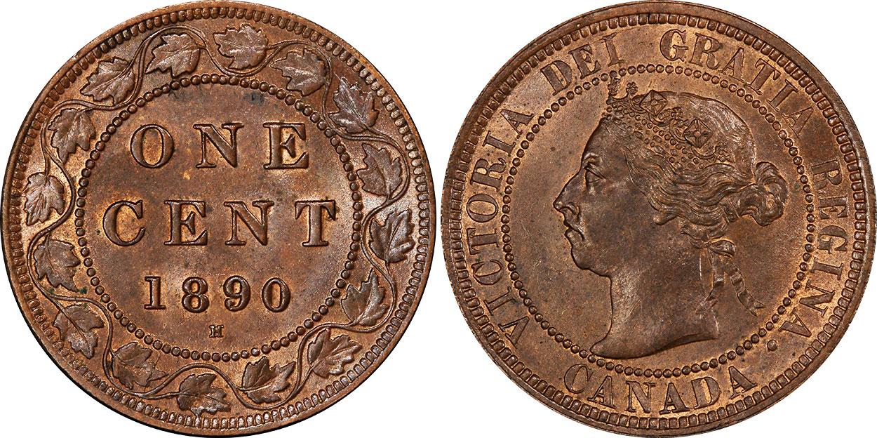 1 cent 1890