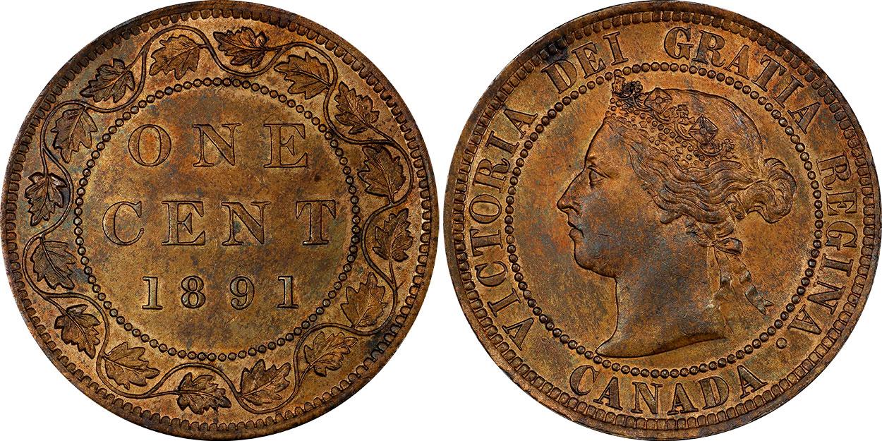 1 cent 1891