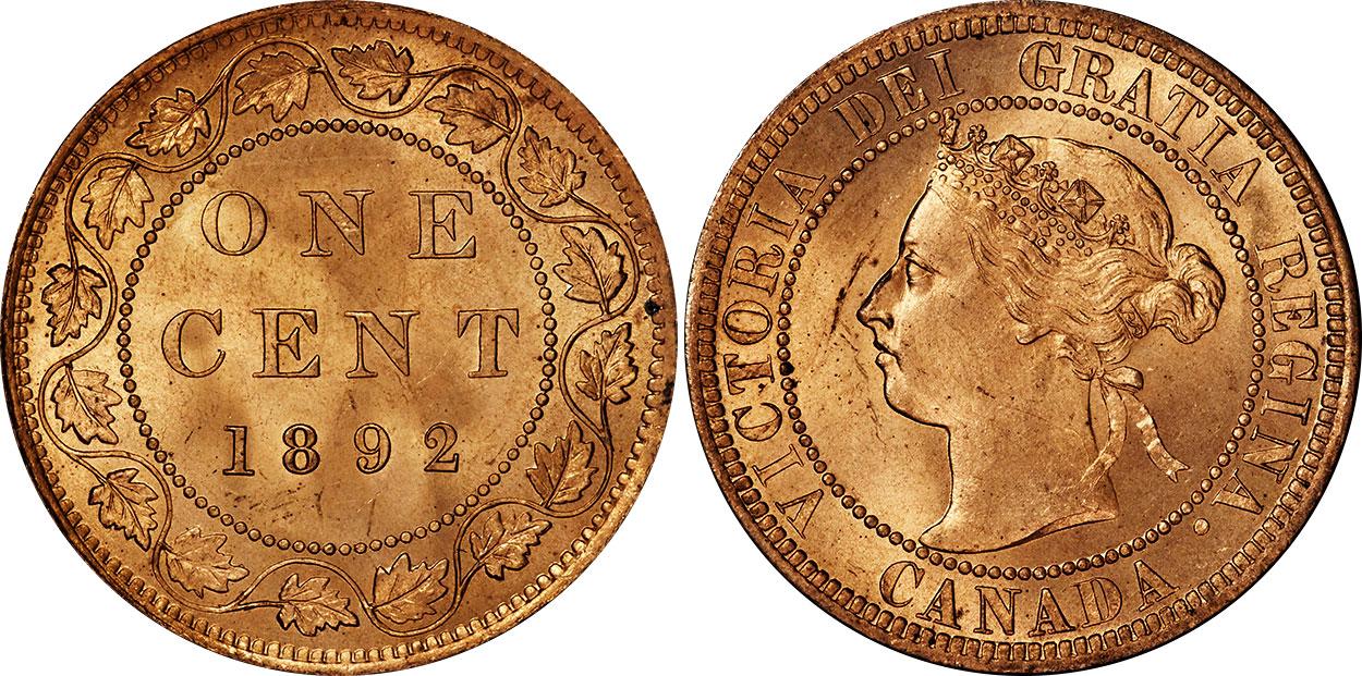 1 cent 1892