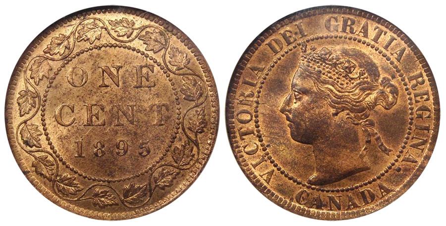 1 cent 1895