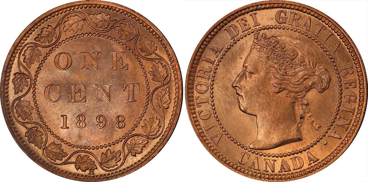 1 cent 1898