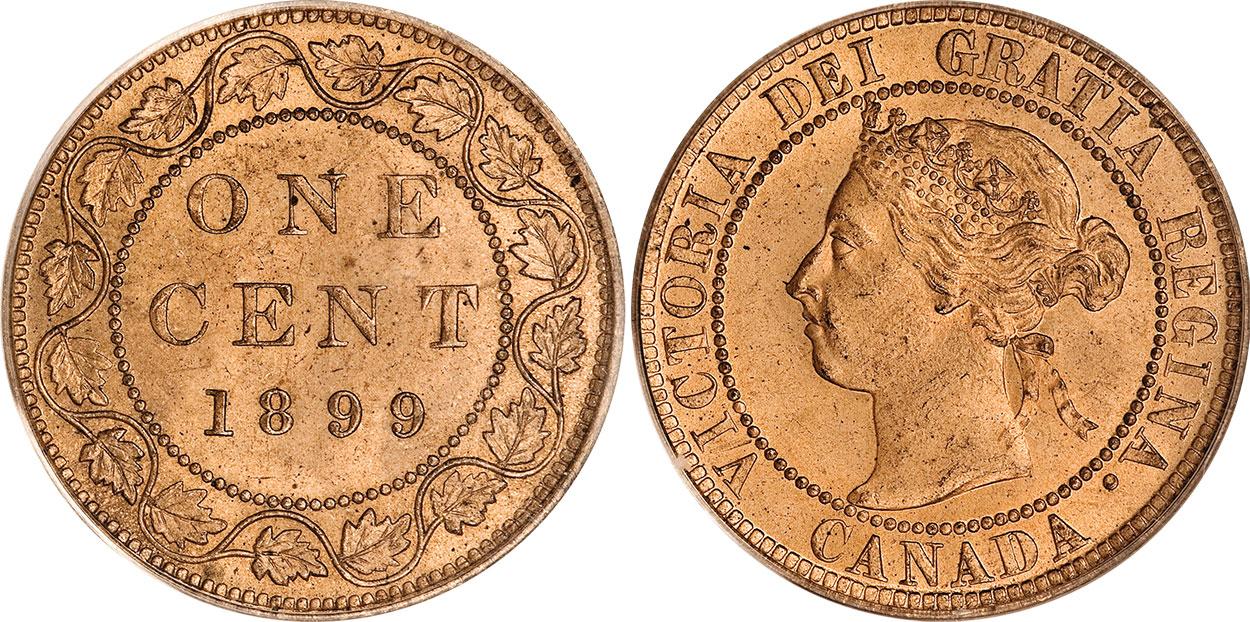 1 cent 1899