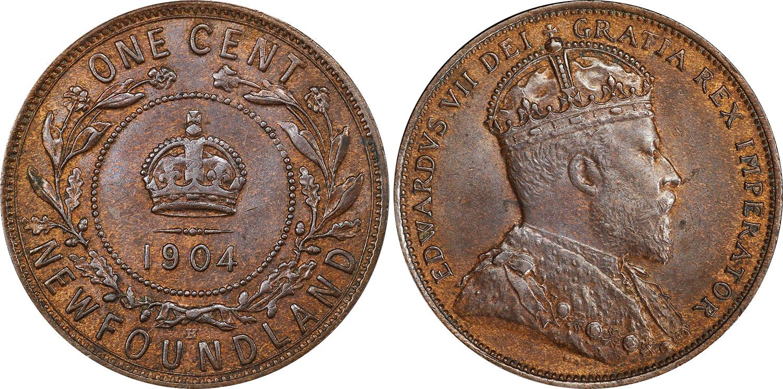1 cent 1904 - Newfoundland