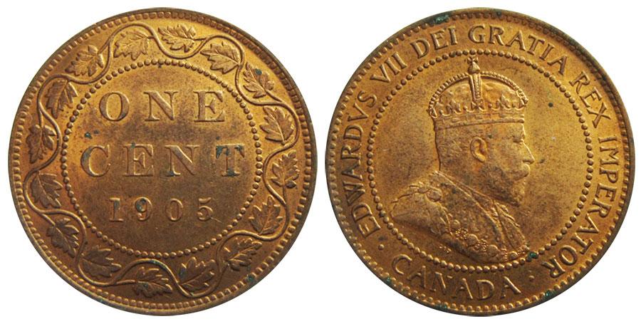 1 cent 1905