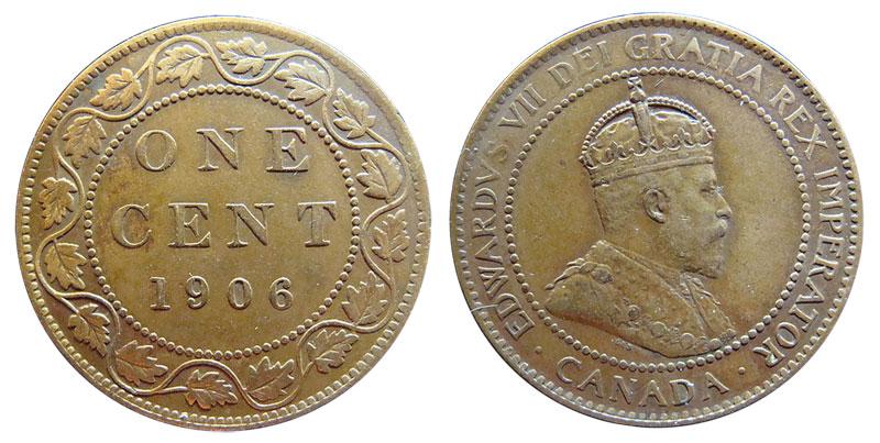 1 cent 1906