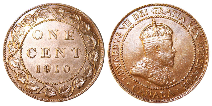 1 cent 1910