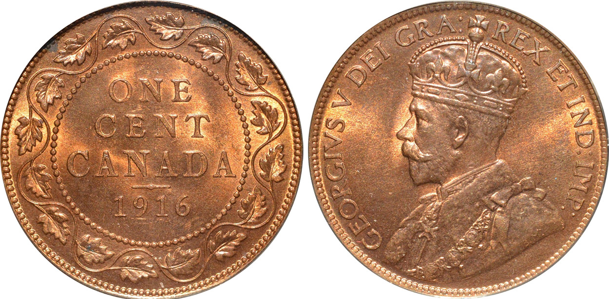 1 cent 1916