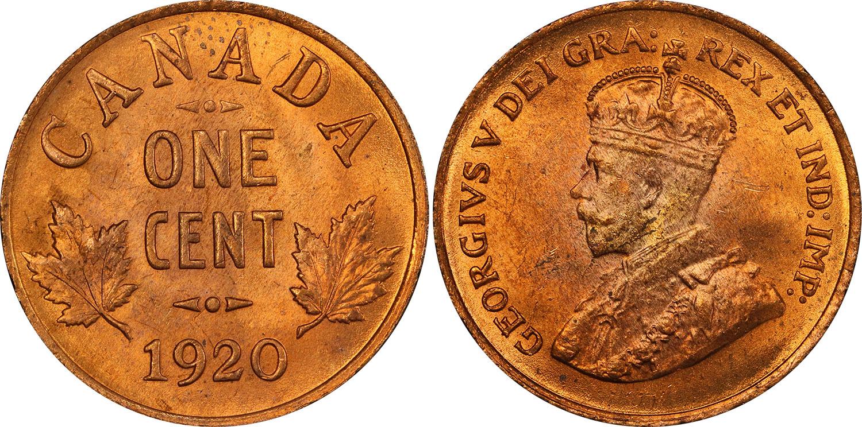 1 cent 1920