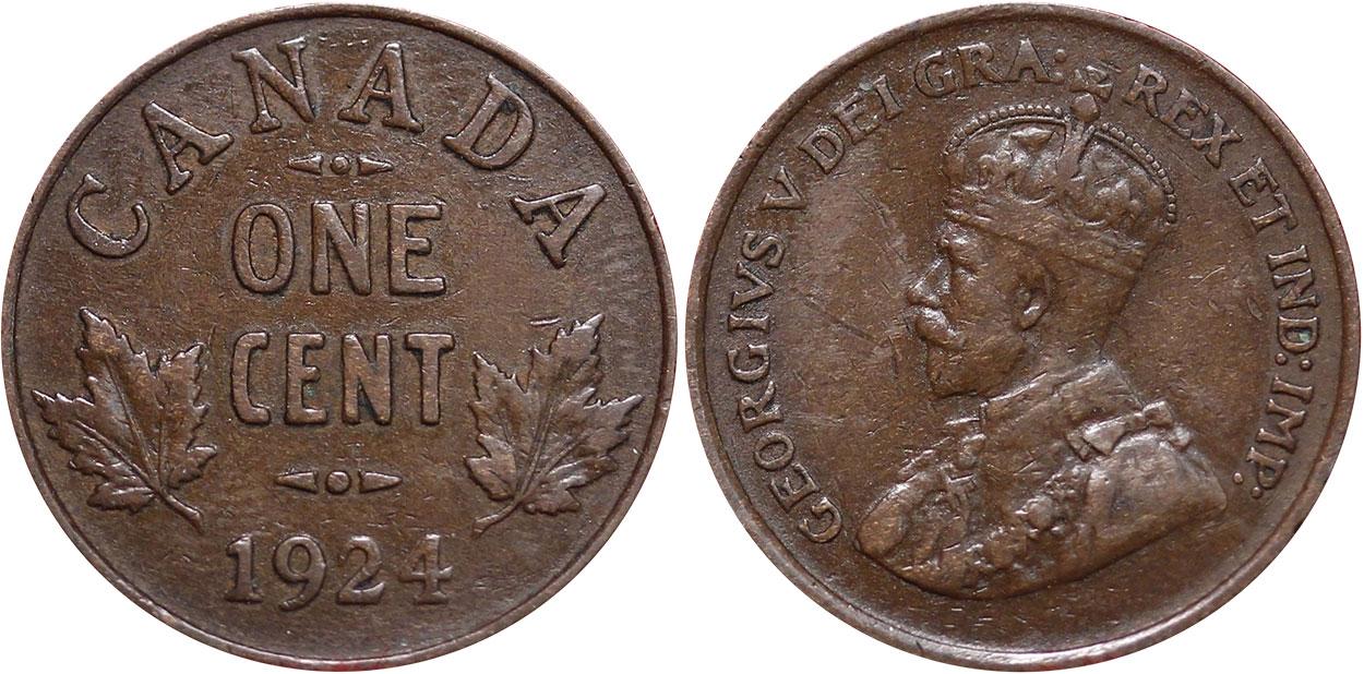 1 cent 1924
