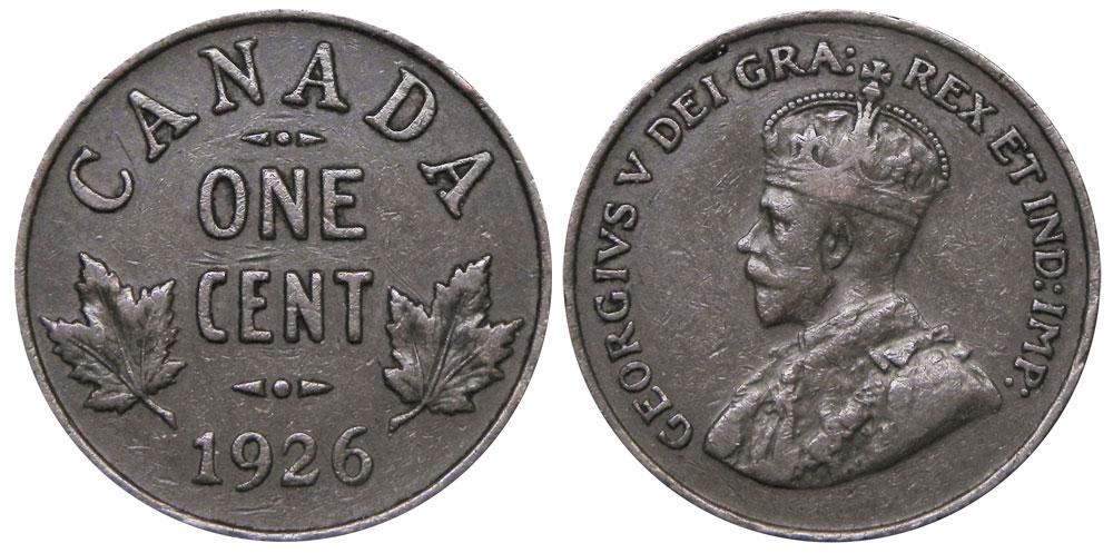 1 cent 1926
