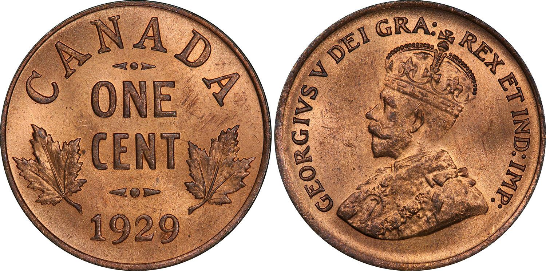 1 cent 1929