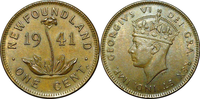 1 cent 1941 - Newfoundland