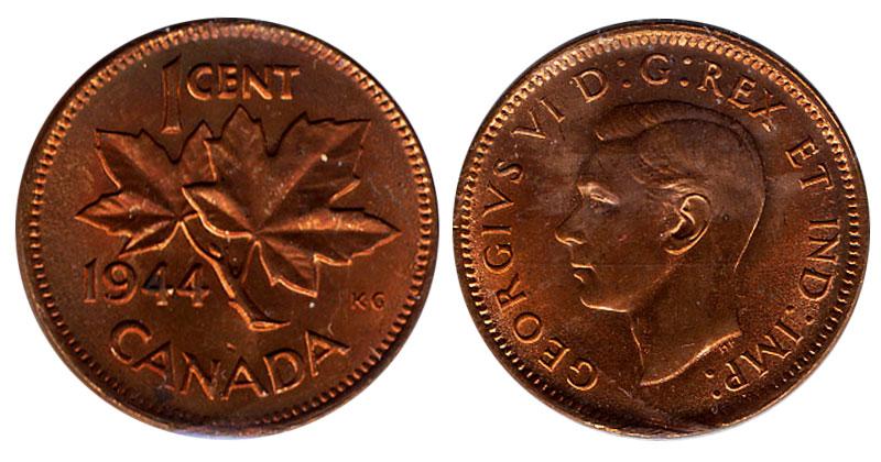 1 cent 1944