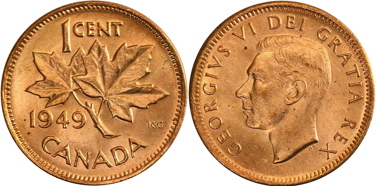 1 cent 1949