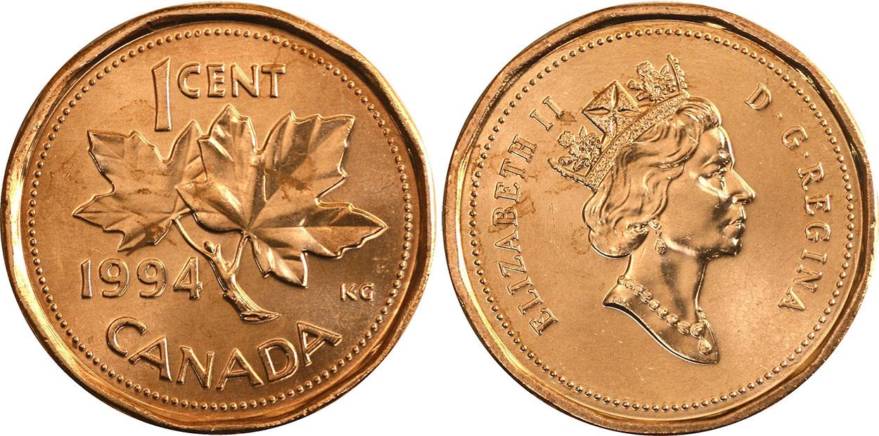 1 cent 1994
