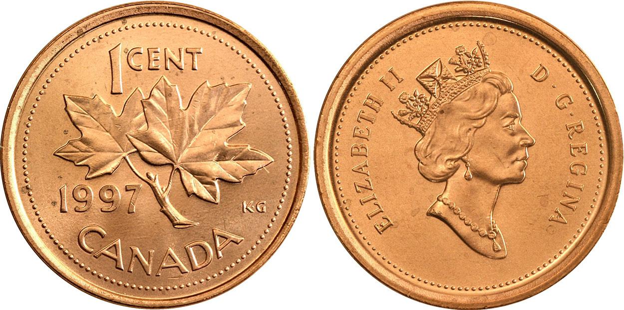 1 cent 1997