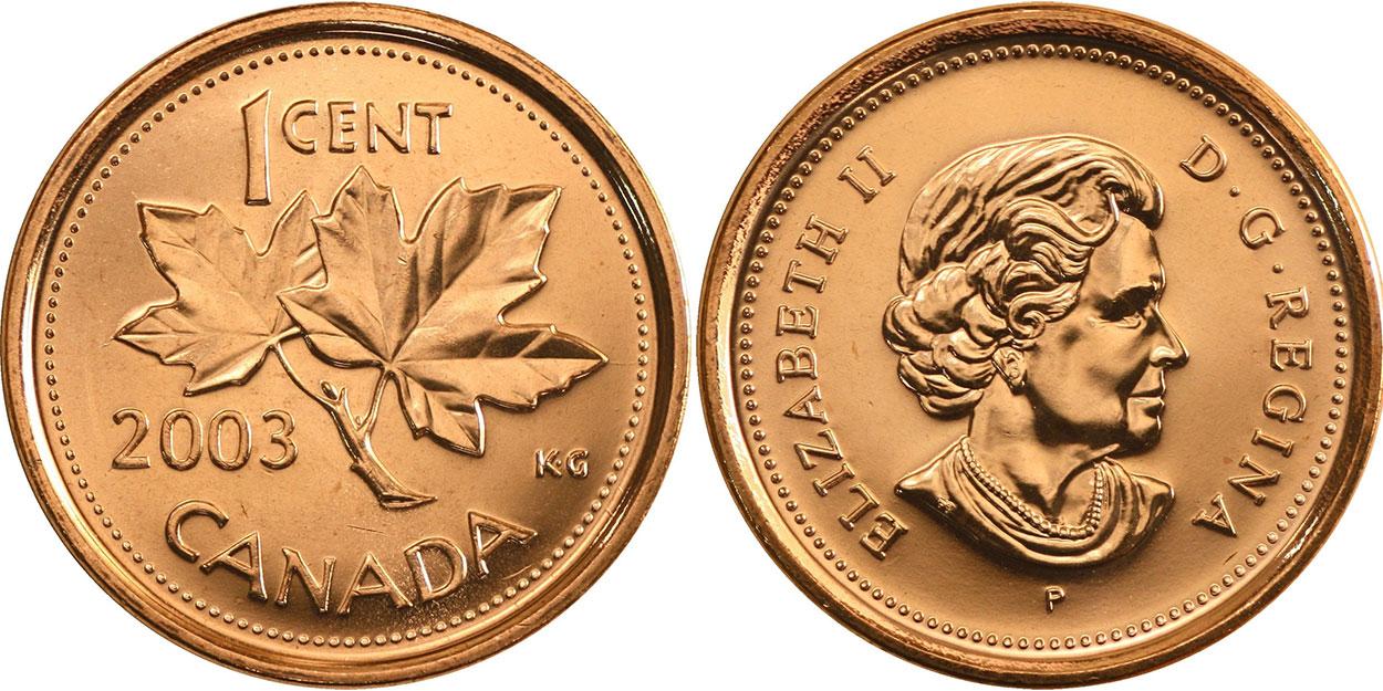 1 cent 2003