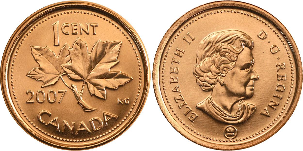1 cent 2007