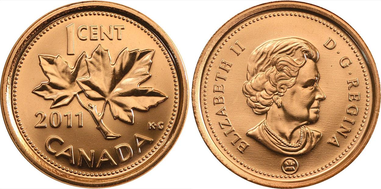 1 cent 2011
