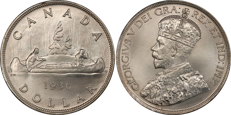 1 dollar 1936
