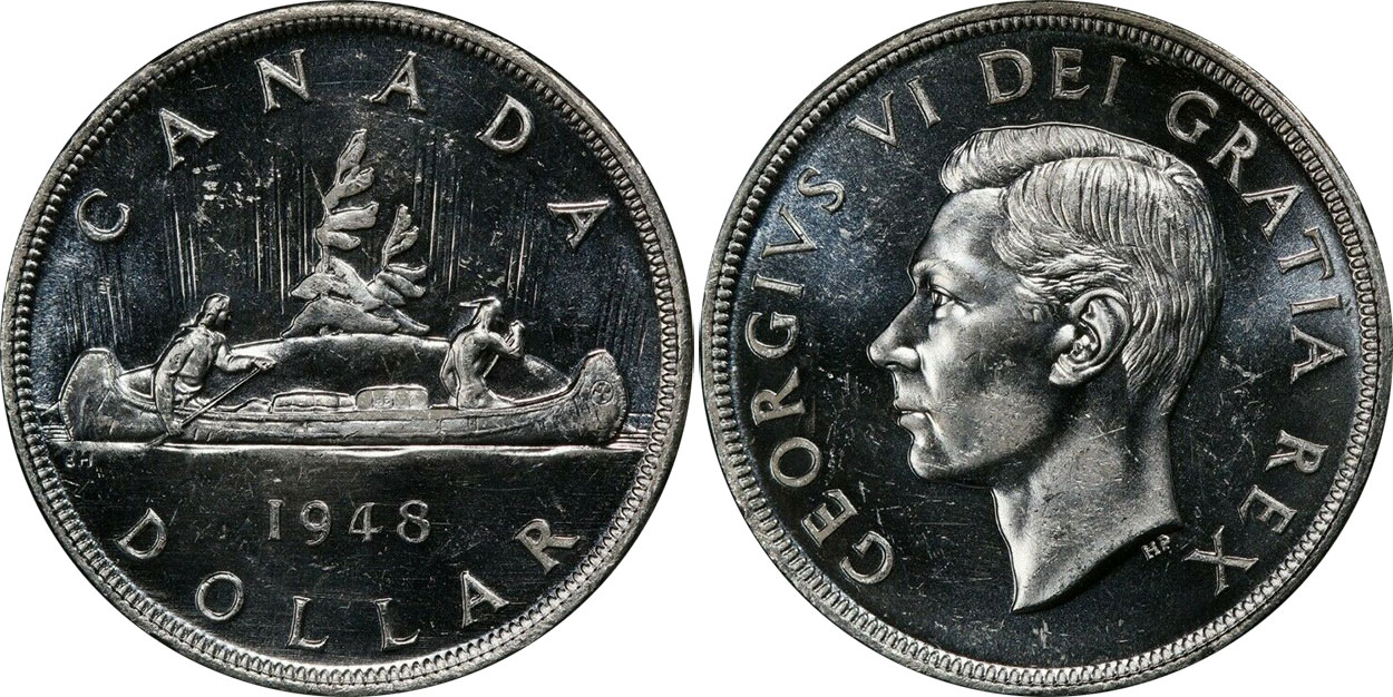 1 dollar 1948