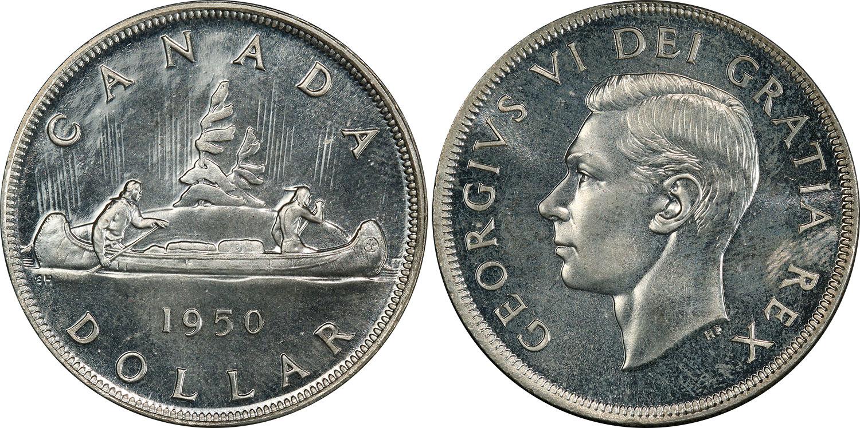 1 dollar 1950