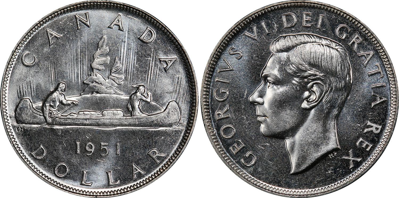 1 dollar 1951