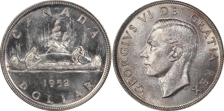 1 dollar 1952