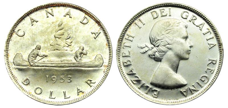 1 dollar 1953