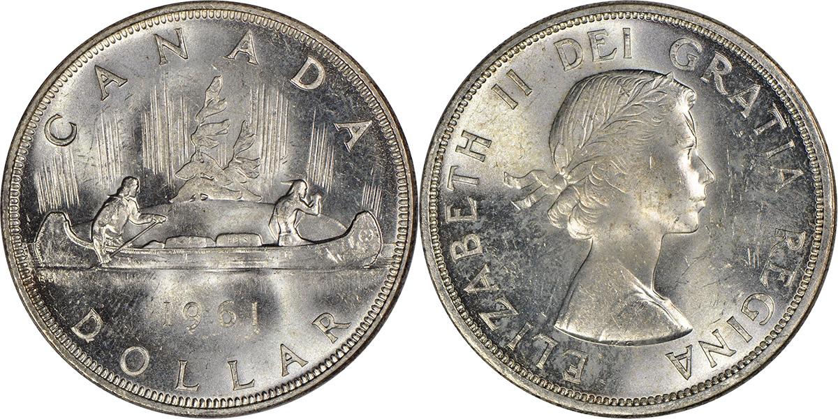 1 dollar 1961