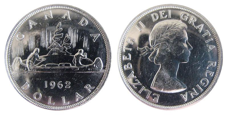 1 dollar 1962