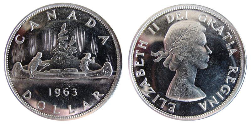 1 dollar 1963