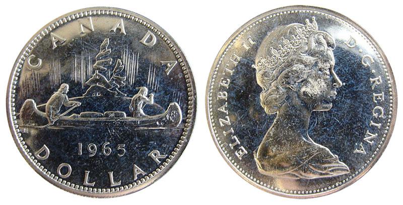 1 dollar 1965