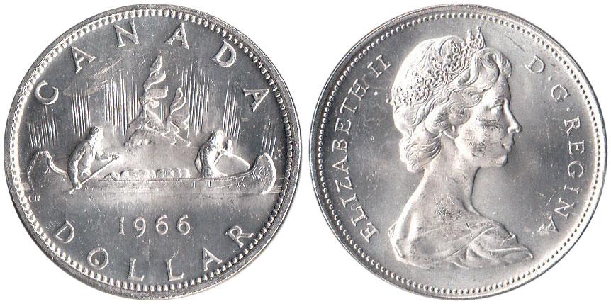 1 dollar 1966
